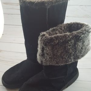 Rampage Allie Fur Cuffed Boots